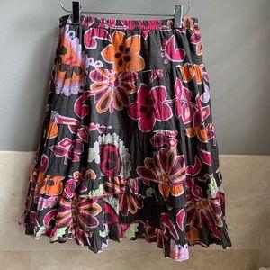 Old Navy cotton ruffled skirt